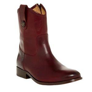 Frye Melissa Button Short Boot size 7